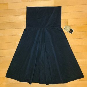 NWT $94 Juicy Couture Black Strapless Tube Dress S